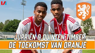 Gebroeders Timber: Na Ronald & Frank de Boer Wéér Een Tweeling In Oranje?