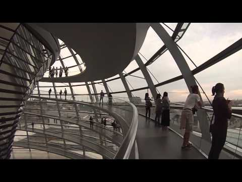 Berlin, Germany - Reichstag Dome at the Bundestag HD (2013)