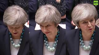 Tough crowd: How many jeers did Theresa May receive in her Brexit deal delay statement?