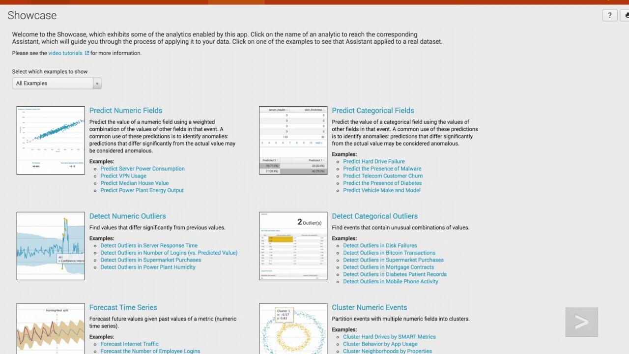 Splunk Machine Learning Toolkit
