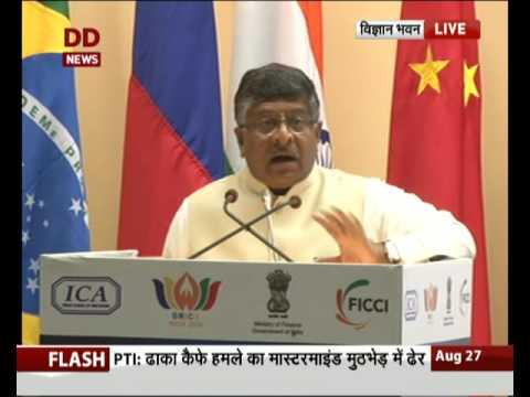 "Union Minister Ravishankar Prasad inaugurates Conference on""International Arbitration in BRICS"""