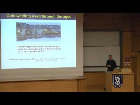 Ultralight Weight, Thin Film Solar Cells on Plastic - Prof. Steve Forrest - Technion lecture