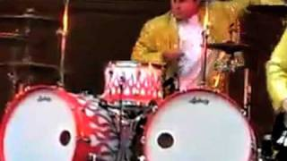 DRUMMER AT WRONG GIG- better view