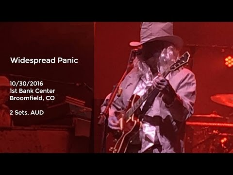 Widespread Panic Live at 1st Bank Center, Broomfield, CO - 10/30/2016 Full Show AUD