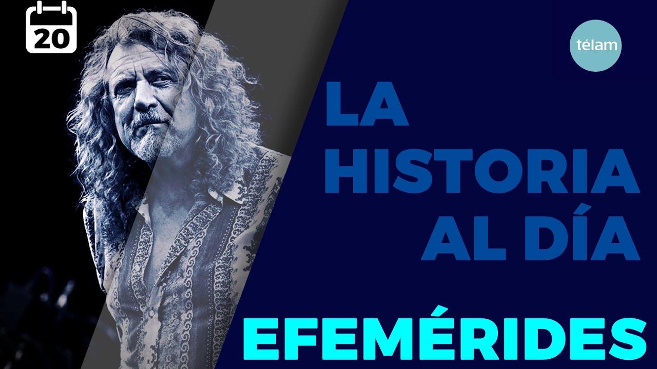 LA HISTORIA AL DÍA (EFEMÉRIDES 20 AGOSTO)