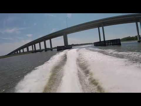 Jetboaters May 2018 Pinopolis Lock to Hilton Head and Return