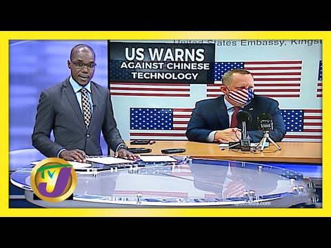 US Warns Against Chinese Technology | TVJ News