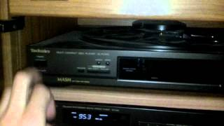 Amazing Curb Score!  Technics SC-2200 Shelf System with Cabinet and Speakers