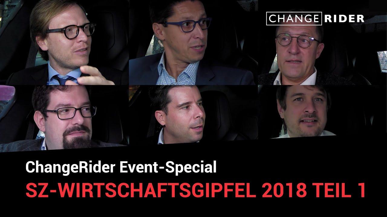 ChangeRider-Special vom SZ-Wirtschaftsgipfel 2018 Teil 1