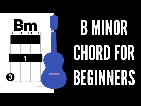 Bm Baritone Ukulele Chord Worshipchords