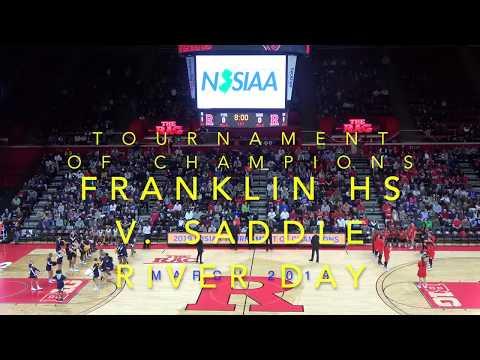 NJSIAA 2019 TOC Final Franklin HS 65 v Saddle River Day School 57