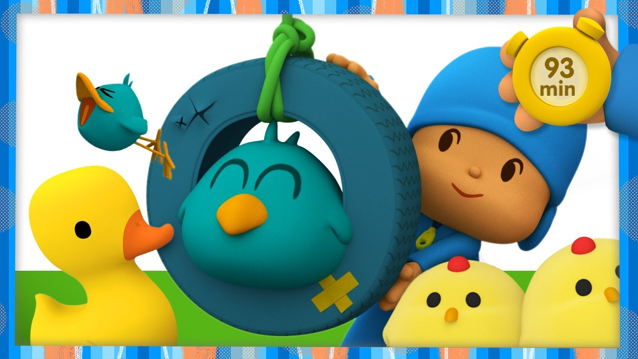 🐤 POCOYO AND NINA - Ducklings [93 minutes] | ANIMATED CARTOON for Children | FULL episodes