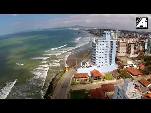 PRAIA DE GRAVATÁ DRONE Navegantes - Santa Catarina