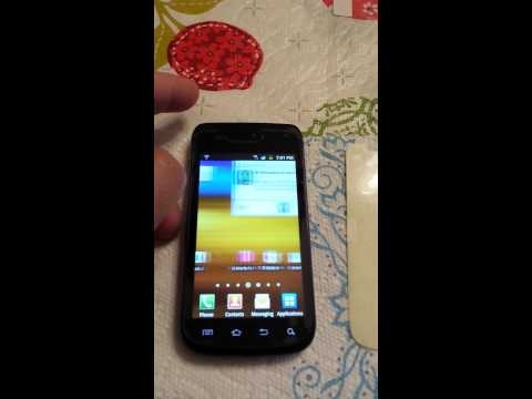 Samsung Galaxy Exhibit 4G Screen Cleaning Part 2