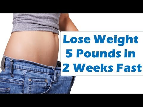 How to Lose Weight 5 Pounds in 2 Weeks Fast at Home