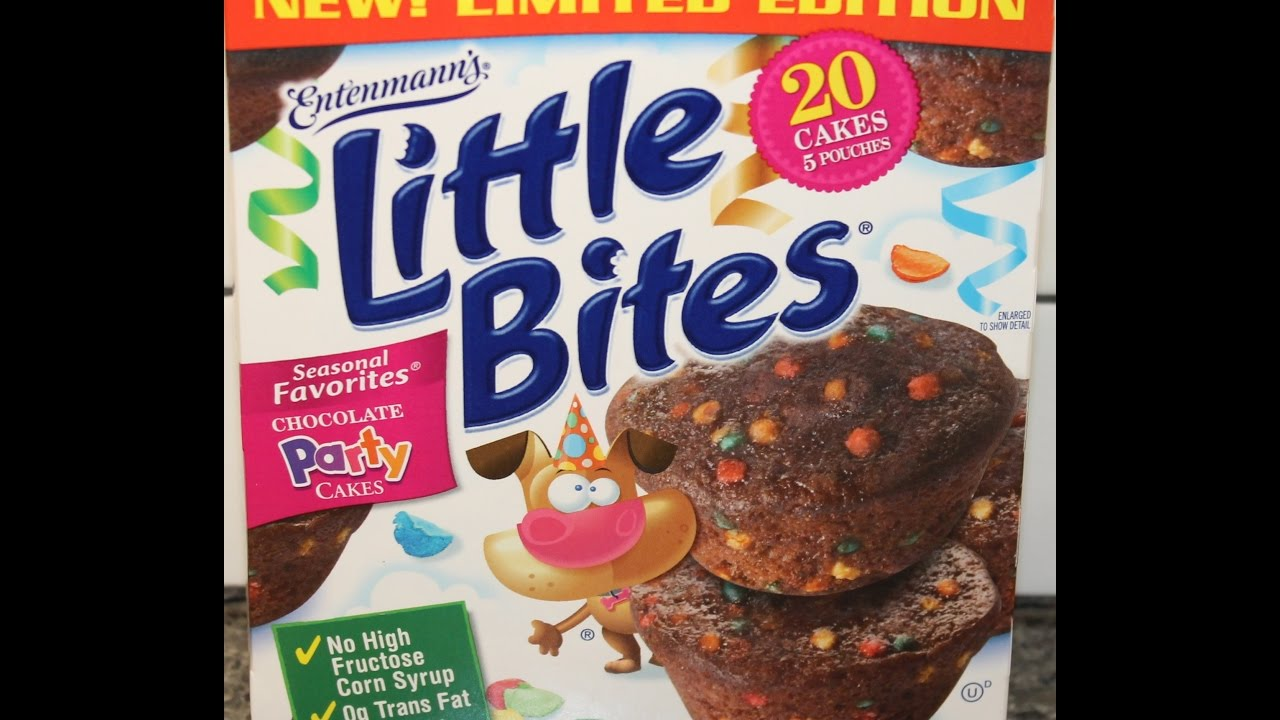 Entenmanns Little Bites Chocolate Party Cakes Review