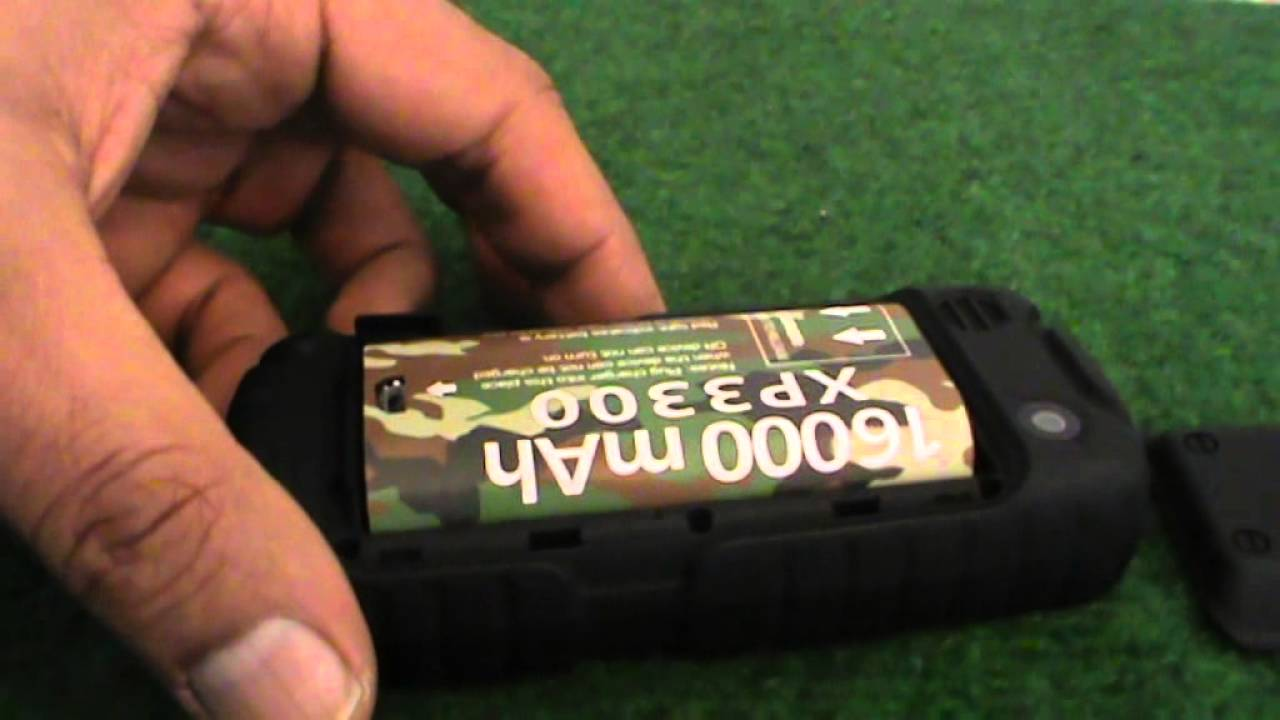 Land Rover Rugged Mobile Phone With 16000 Mah Battery Two Sim Cards Youtube