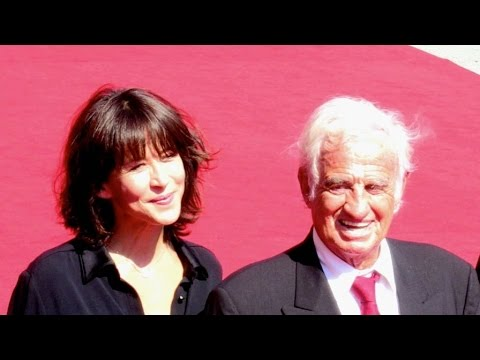 Jean Paul Belmondo hommage with Sophie Marceau walking the red carpet at the 2016 Venice Film Festiv