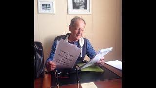 Михаил Задорнов - на съёмках фильма