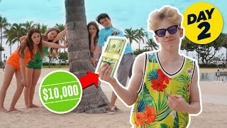 LAST TO Remove Hand WINS $10,000 CHALLENGE **CRUSH GETS MAD**🌺| Lev Camron @Piper Rockelle