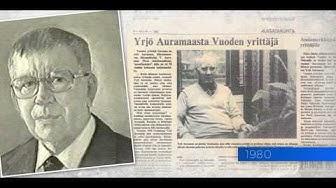 Auramaa-yhtiöt 90 vuotta