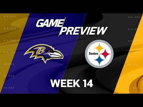 Baltimore Ravens vs. Pittsburgh Steelers | NFL Week 14 Game Preview | Move the Sticks