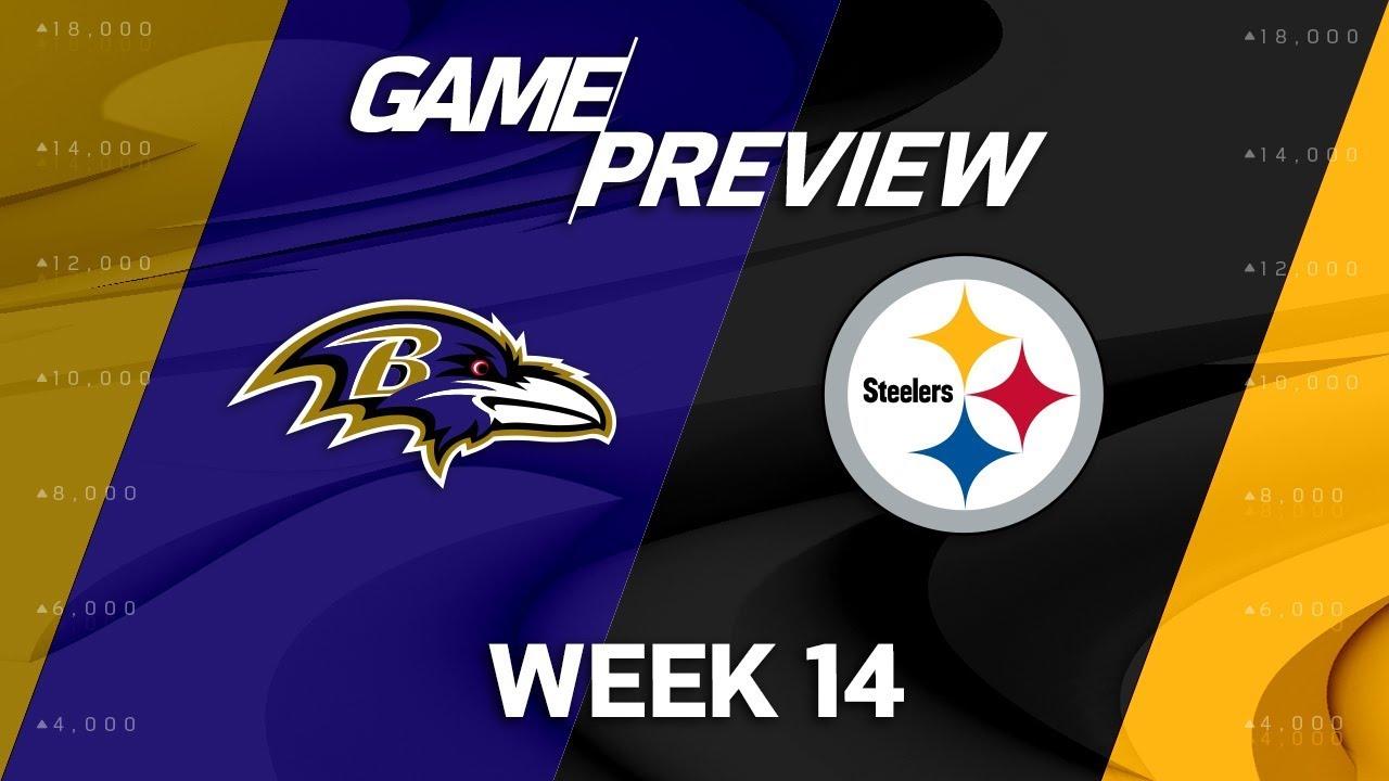 Baltimore Ravens Vs Pittsburgh Steelers  Nfl Week 14