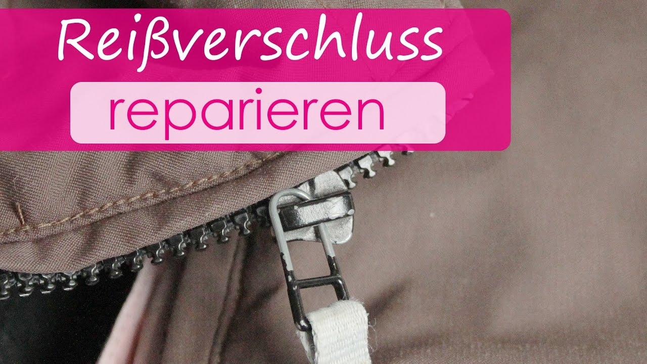 hot sale online the sale of shoes buying new Reißverschluss selber reparien Zipper von Reißverschluss wieder einsetzen