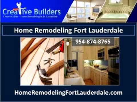 Home Remodeling Fort Lauderdale | Kitchen And Bathroom Remodeling