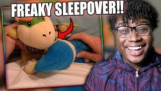 BOWSER JR. HAS A SLEEPOVER WITH CODY! | SML Movie: Cody's Handcuffs Reaction!