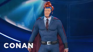 Conan Suits Up For Comic-Con®  - CONAN on TBS by : Team Coco