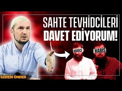 EBU HANZALA VE TÜM SAHTE TEVHİDCİLERİ DAVET EDİYORUM! / Kerem Önder