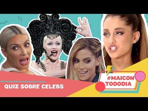 QUIZ SOBRE CELEBS: 1º SUCESSO DE ANITTA? FILHOS DA KIM? EX BBB 5? ft Papel Pop  MaiconTodoDia