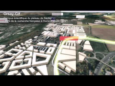 La ligne 18 du Grand Paris Express en 3D
