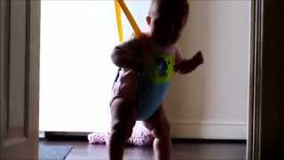 Funny Baby Mia Shows Her Dance Moves