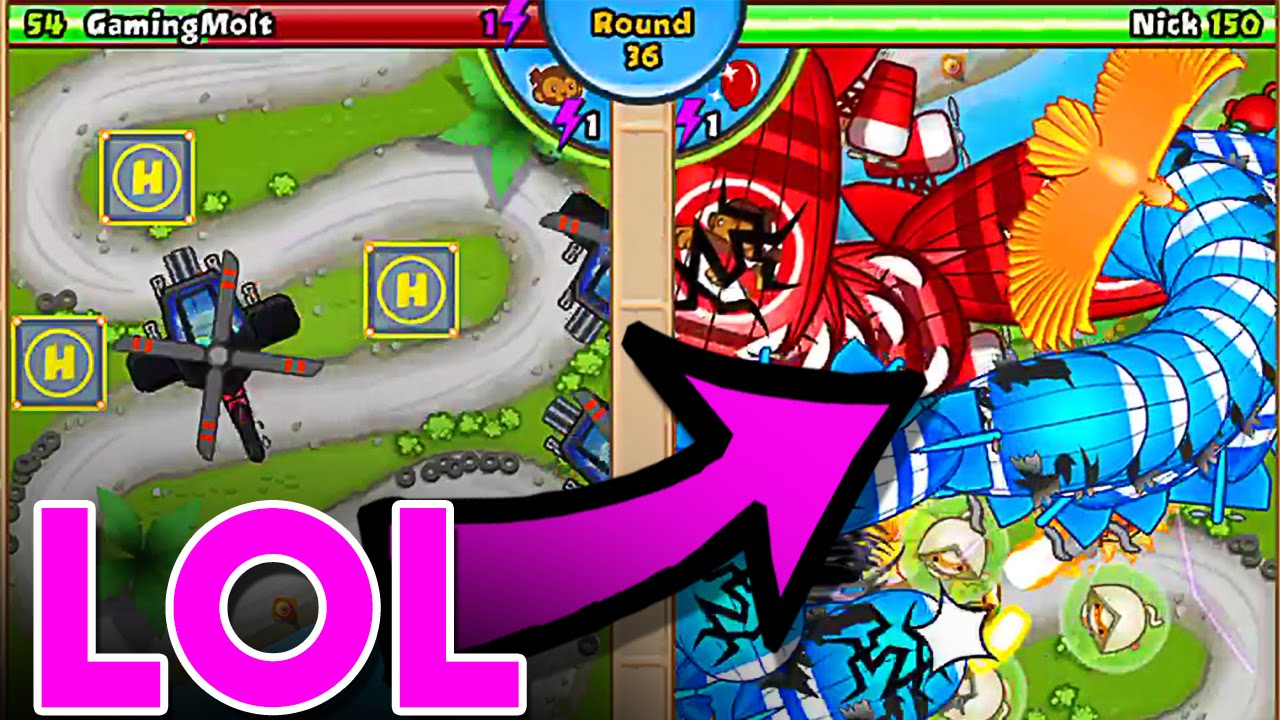 Lol bloons td battles helicopter madness btd battles youtube