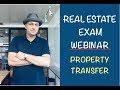 Premium Webinar: Property Transfer (1/3/19)
