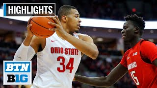 Luther muhammad scored 22 points to help lead ohio state a 79-72 win over maryland.#basketball #marylandterrapins #ohiostatebuckeyessubscribe big ten n...