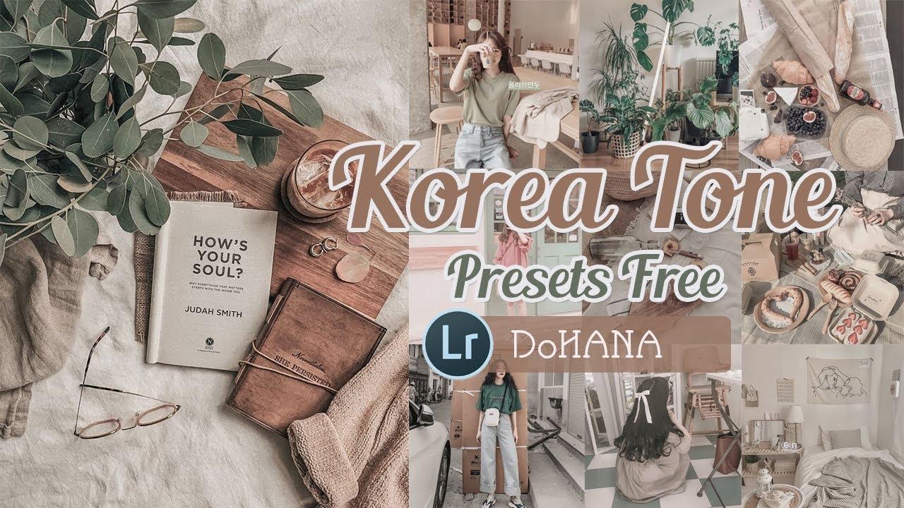 KOREA Tone Lightroom | PRESETS FREE | Công Thức Lightroom Màu Hàn Quốc | 라이트룸 사진 색감 보정 프리셋