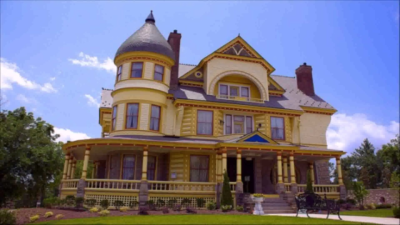 Queen Anne Style House History   YouTube