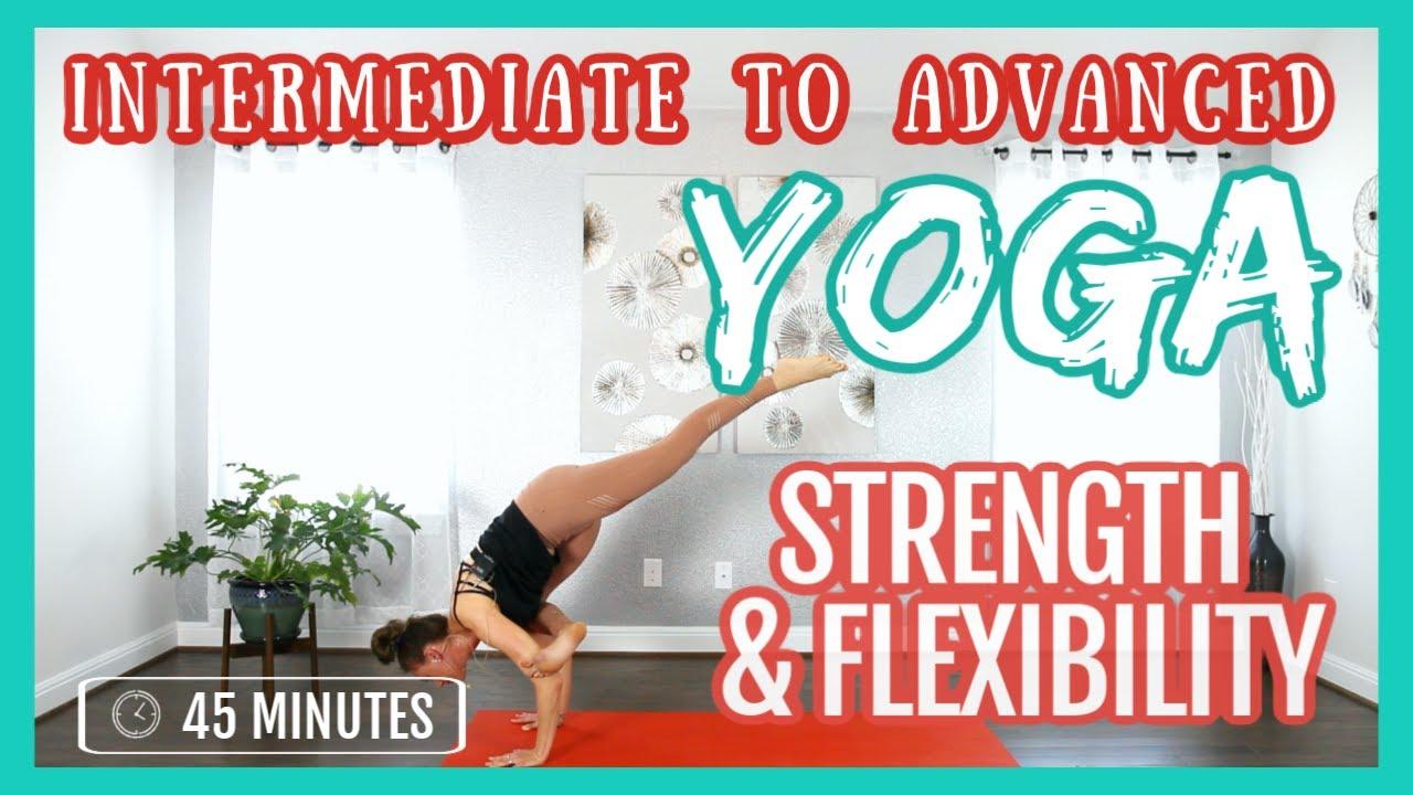 45 min Intermediate to Advance Yoga Flow for Strength & Flexibility - Liel Cheri Yoga