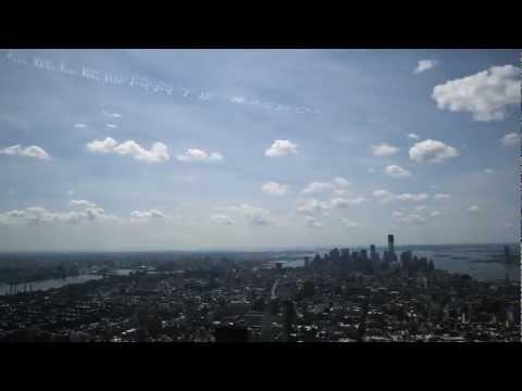 #85ROX Skywriting - Radio City Christmas Spectacular
