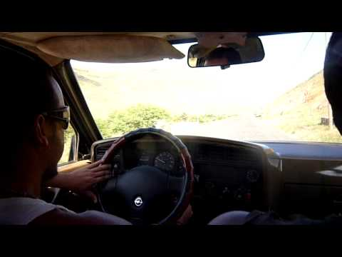 Hitchhiking around the world - Cabo Verde - going to Calhao