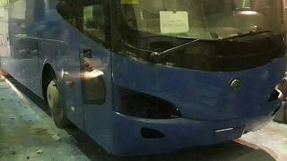Покраска Автобуса Ютонг Yutong за 3 дня  (в кратце)