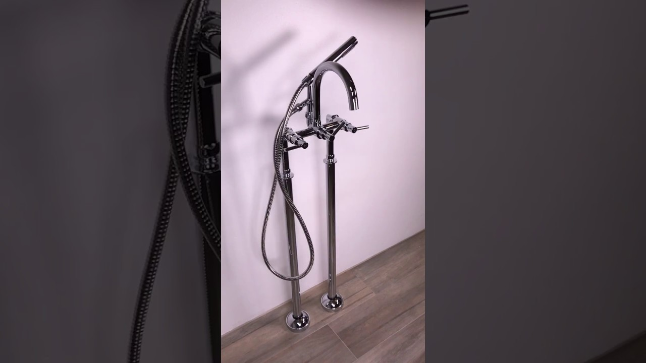 Expo Freestanding Tub Faucet - YouTube