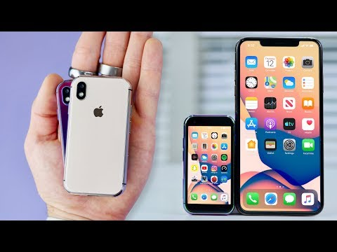 Unboxing The World's Smallest IPhone XS!