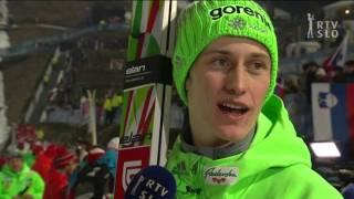 Športna poročila po zmagi Petra Prevca na novoletni skakalni turneji