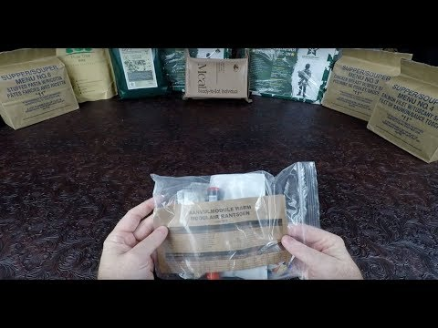 Netherlands  Dutch Military Hot Weather Module Ration Review