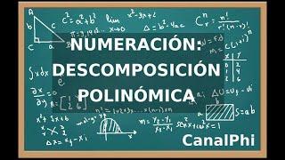 Numeración. Descomposición polinómica.