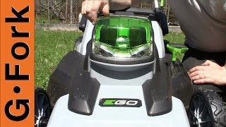 Cordless Lawn Mower That Works - GardenFork.TV Sponsored Video